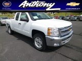2013 Summit White Chevrolet Silverado 1500 LT Extended Cab 4x4 #80970842