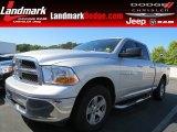 2011 Bright Silver Metallic Dodge Ram 1500 SLT Quad Cab #80970464