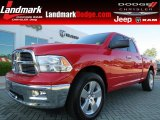 2012 Flame Red Dodge Ram 1500 Big Horn Quad Cab #80970459