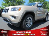2014 Cashmere Pearl Jeep Grand Cherokee Limited #80970458