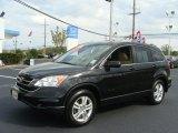 2010 Crystal Black Pearl Honda CR-V EX AWD #80970905