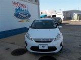 2013 Oxford White Ford Fiesta SE Sedan #80970372