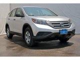 2013 Alabaster Silver Metallic Honda CR-V LX #80970503