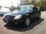 Black Mercedes-Benz SLK in 2000