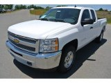 2013 Summit White Chevrolet Silverado 1500 LT Extended Cab #80970736