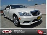 2013 Diamond White Metallic Mercedes-Benz S 550 Sedan #80970403