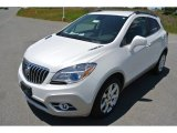 2013 White Pearl Tricoat Buick Encore Leather #80970735