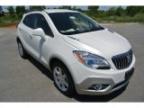 White Pearl Tricoat Buick Encore in 2013