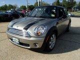 2007 Sparkling Silver Metallic Mini Cooper Hardtop #80970345