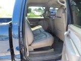 2002 Chevrolet Silverado 3500 LT Crew Cab 4x4 Dually Rear Seat
