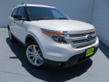 2013 White Platinum Tri-Coat Ford Explorer XLT #80970578