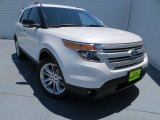 2013 White Platinum Tri-Coat Ford Explorer XLT #80970577