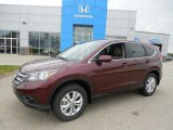 2013 Basque Red Pearl II Honda CR-V EX AWD #81011747