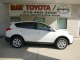 2013 Blizzard White Pearl Toyota RAV4 Limited AWD #81011120