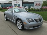2006 Sapphire Silver Blue Metallic Chrysler Crossfire Limited Coupe #81011731