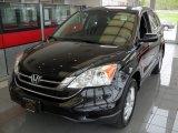 2011 Crystal Black Pearl Honda CR-V EX-L 4WD #81011727