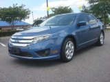 2010 Sport Blue Metallic Ford Fusion SE #81011338