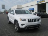 2014 Bright White Jeep Grand Cherokee Limited 4x4 #81011937