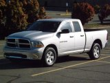 2012 Bright Silver Metallic Dodge Ram 1500 SLT Quad Cab 4x4 #81011593