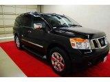 2012 Galaxy Black Nissan Armada Platinum #81011327