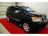 2012 Galaxy Black Nissan Armada SL #81011326