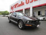 2005 Black Ford Mustang V6 Deluxe Coupe #81011202