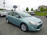 2012 Frosted Glass Metallic Ford Focus SEL Sedan #81011321