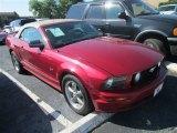 2005 Redfire Metallic Ford Mustang GT Premium Convertible #81011194