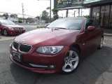 2011 Vermillion Red Metallic BMW 3 Series 335i Convertible #81011431