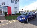 2007 Laser Blue Metallic Chevrolet Cobalt LS Coupe #81011567
