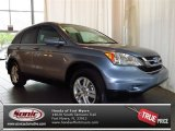2011 Glacier Blue Metallic Honda CR-V EX-L #81011057
