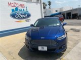 2013 Deep Impact Blue Metallic Ford Fusion SE 1.6 EcoBoost #81011179