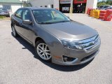 2010 Sterling Grey Metallic Ford Fusion SEL #81011561