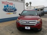 2013 Ruby Red Metallic Ford Explorer XLT #81011171
