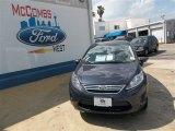 2013 Violet Gray Ford Fiesta SE Sedan #81011170