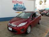 2013 Ruby Red Ford Fiesta SE Sedan #81011169