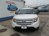 2013 White Platinum Tri-Coat Ford Explorer XLT #81011166