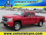2010 Victory Red Chevrolet Silverado 1500 LT Extended Cab 4x4 #81011889