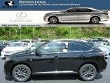 2013 Obsidian Black Lexus RX 350 F Sport AWD #81011403