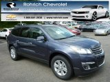 2013 Atlantis Blue Metallic Chevrolet Traverse LT AWD #81011877