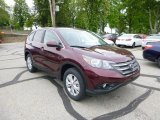 2013 Basque Red Pearl II Honda CR-V EX AWD #81011776