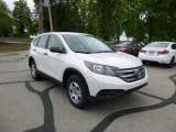 2013 White Diamond Pearl Honda CR-V LX AWD #81011775