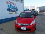 2013 Race Red Ford Fiesta SE Sedan #81011155
