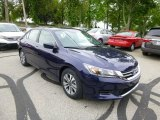 2013 Obsidian Blue Pearl Honda Accord LX Sedan #81011773