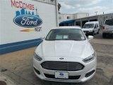 2013 White Platinum Metallic Tri-coat Ford Fusion SE 1.6 EcoBoost #81011154