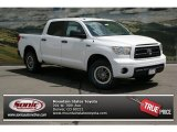 2013 Super White Toyota Tundra TRD Rock Warrior CrewMax 4x4 #81011026