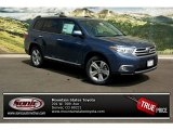 2013 Shoreline Blue Pearl Toyota Highlander Limited 4WD #81011015