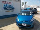 2013 Blue Candy Ford Fiesta SE Sedan #81011144