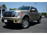 2013 Pale Adobe Metallic Ford F150 XLT SuperCrew 4x4 #81076143