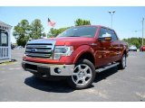 2013 Ruby Red Metallic Ford F150 XLT SuperCrew 4x4 #81076142